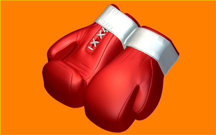 Пластиковая форма Перчатки бокс