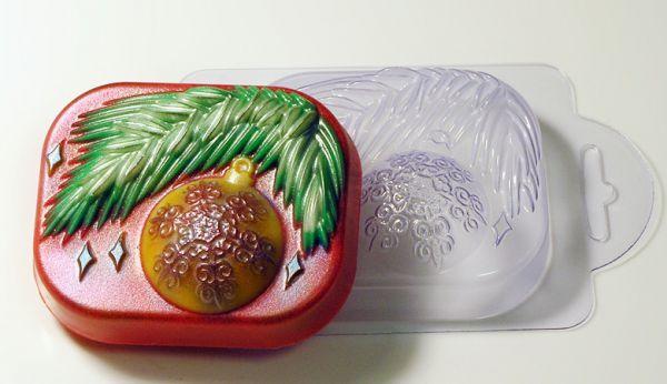 Пластиковая форма Елочная игрушка