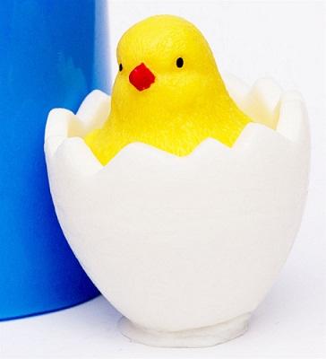 Силиконовая форма Цыпленок в яйце