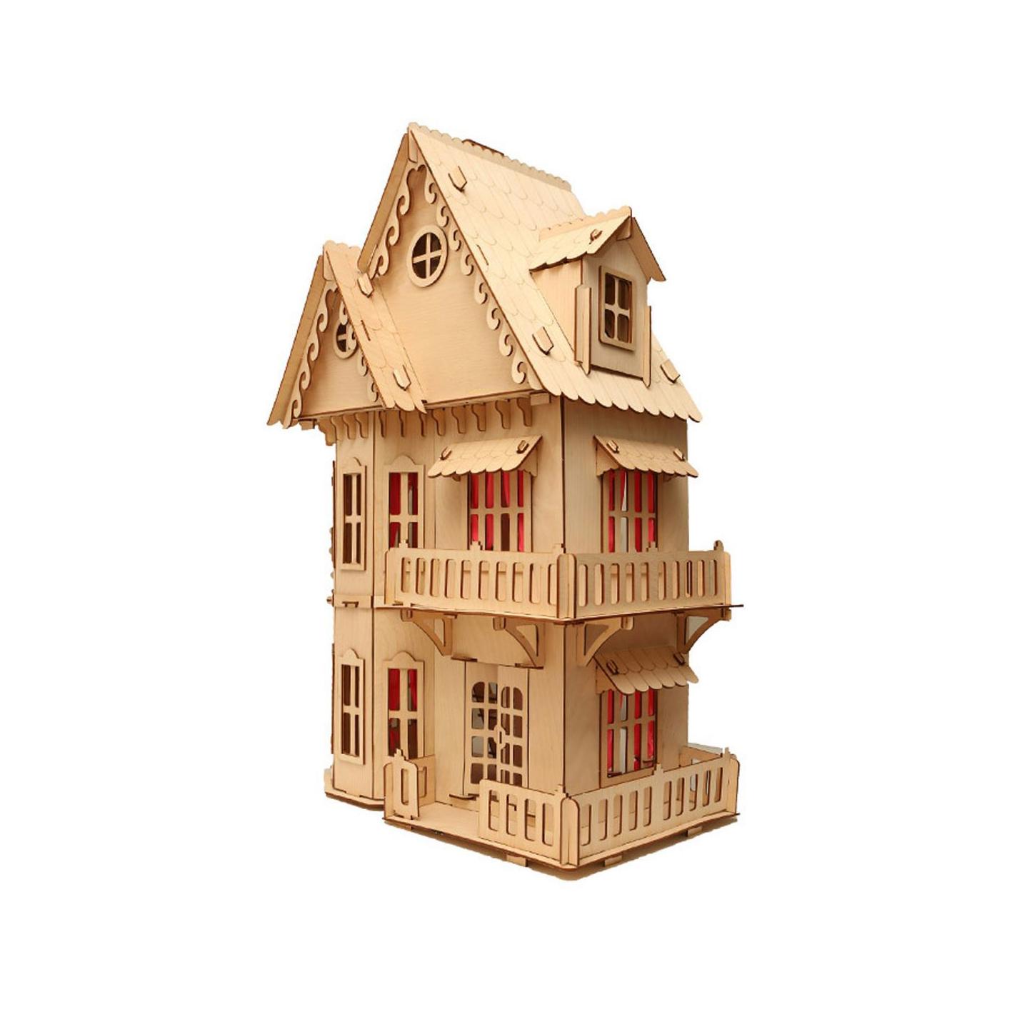 Кукольный домик (деревянный)