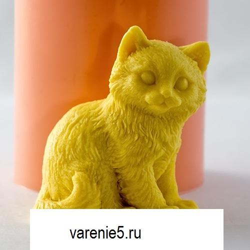 Силиконовая форма кот