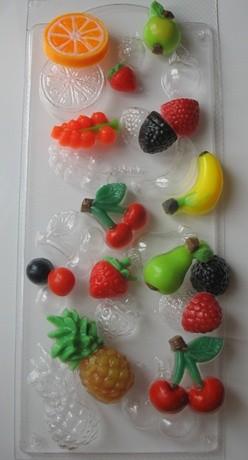 Пластиковая форма Фруктовое ассорти