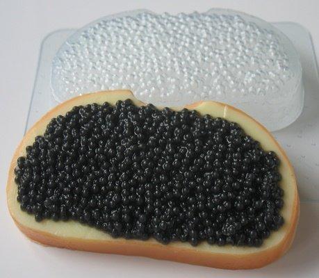 Пластиковая форма Икра черная