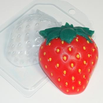 Пластиковая форма  Клубника EX