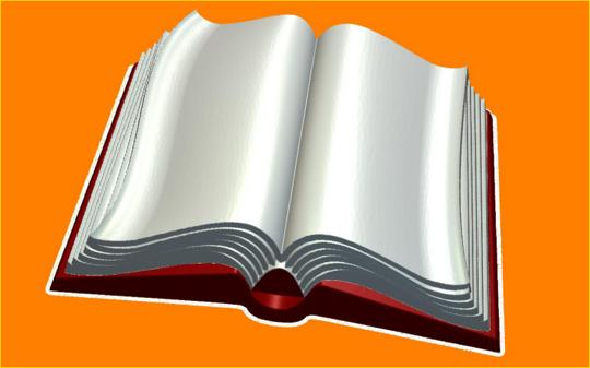 Пластиковая форма Книга