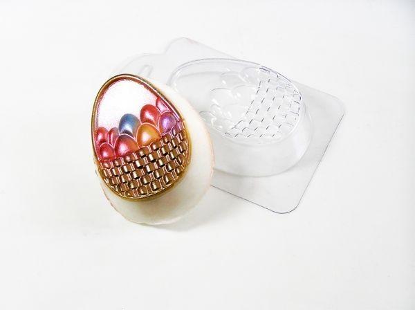 Пластиковая форма Корзина с яйцами