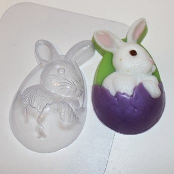 Пластиковая форма Кролик пасхальный