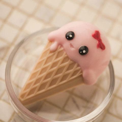 Пластиковая форма Мороженое рожок