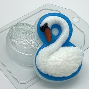 Пластиковая форма 8 марта/лебедь
