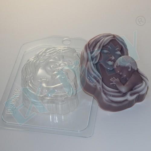 Пластиковая форма Мать и дитя