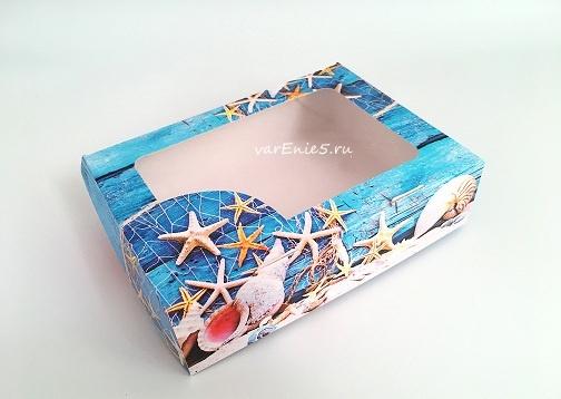 Коробка Морская (средняя)