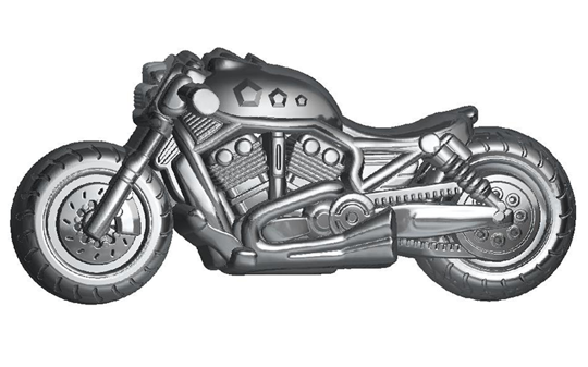 Пластиковая форма Мотоцикл БП