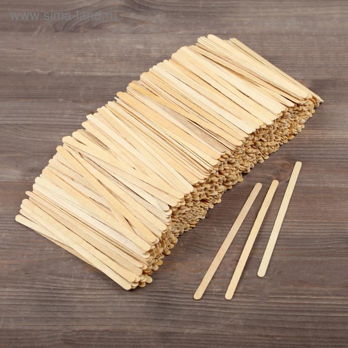 Палочка для размешивания деревянная, 10 шт