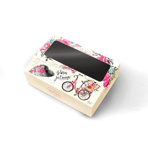 Коробка с окошком Париж