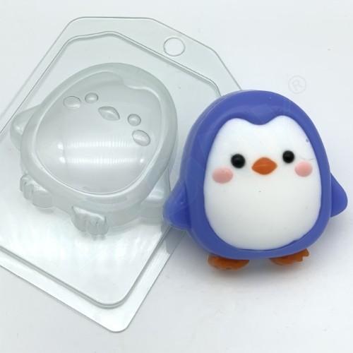 Пластиковая форма Пнгвин мультяшный