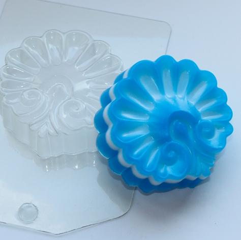 Пластиковая форма Ракушка ажурная
