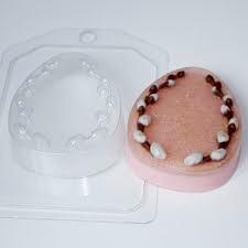 Пластиковая форма Яйцо плоское с вербой