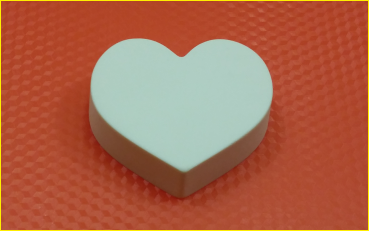 Пластиковая форма Просто сердечко БП