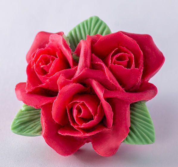 Силиконовая форма Букет роз