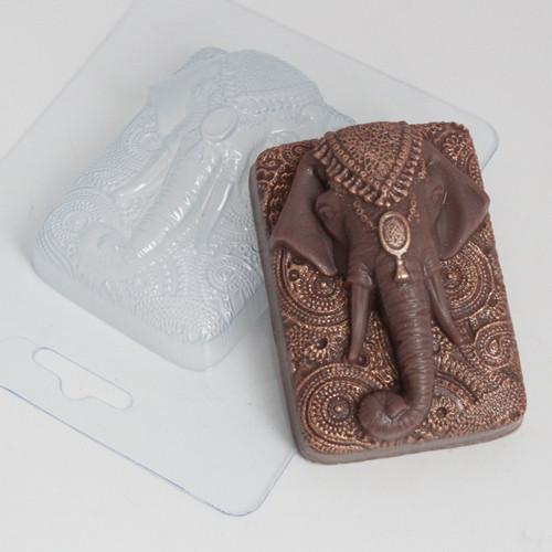 Пластиковая форма Слон индийский