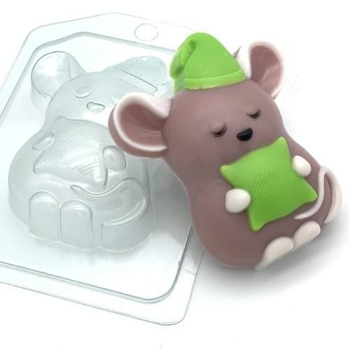 Пластиковая форма Мышь соня