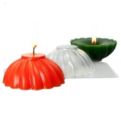 Пластиковая форма для свечей Спираль