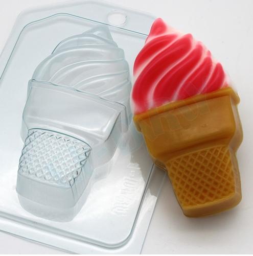 Пластиковая форма Мороженое/Мягкое в стаканчике