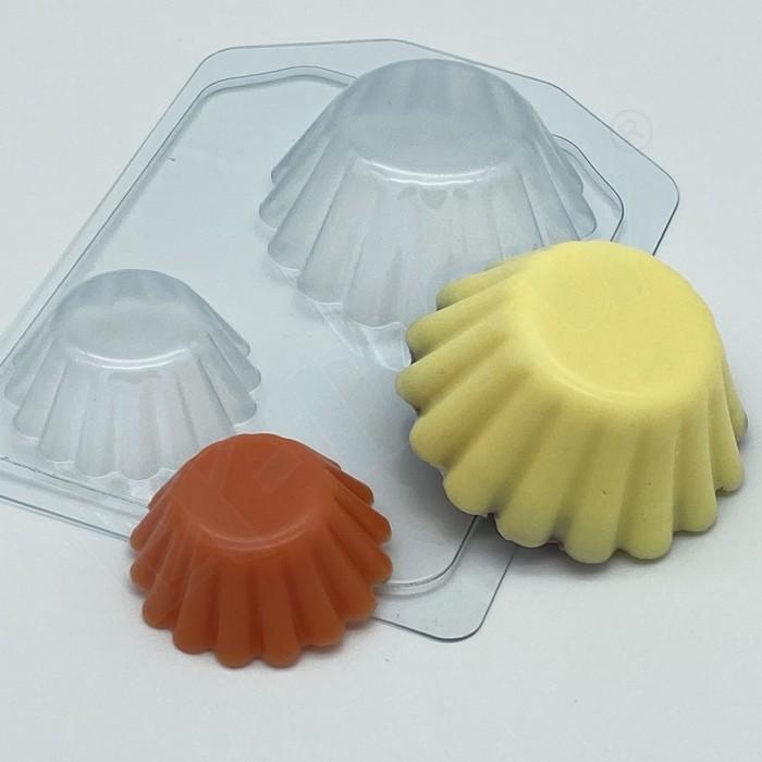 Пластиковая форма Тарталетки волнистые