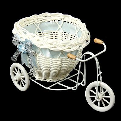корзина декоративная велосипед с кашпо
