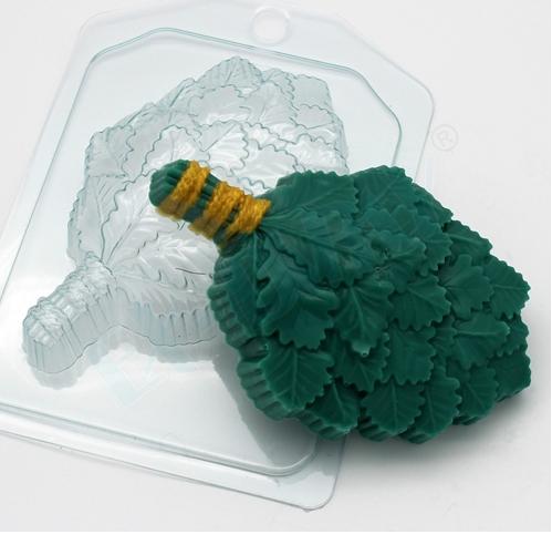Пластиковая форма Веник дубовый