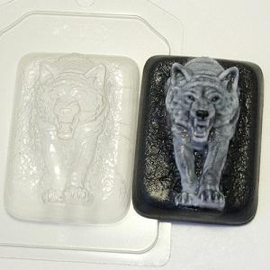Пластиковая форма Волк из темноты