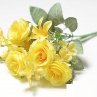 Букет роз желтый