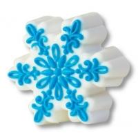 Пластиковая форма Снежинка ажурная