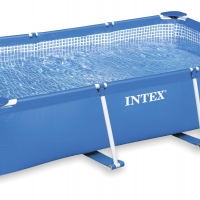 Бассейн каркасный прямоугольный (260х160х65см) INTEX арт.28271