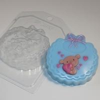 Пластиковая форма Слюнявчик
