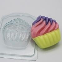 Пластиковая форма Мороженое/Мягкое в корзине
