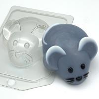Пластиковая форма Мышь/Вид сверху