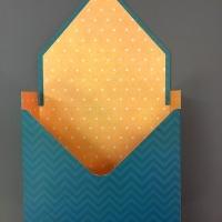 КАШПО_конверт картон синий с зигзагами