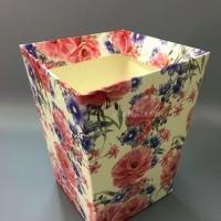 КАШПО_трапеция картон Маки и цветочки