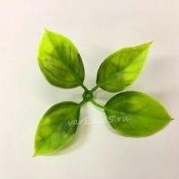 Лист розы 4 листа, 10 шт