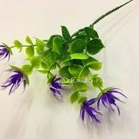 Ветка с фиолетовыми колючками, 1 шт