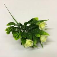 Ветка розы белая