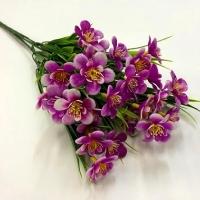 Букет лютиков цвет сиреневый