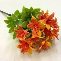 Ветка лилии оранжевая
