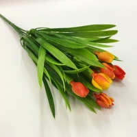 Букет тюльпанов, цвет оранжевый