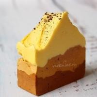Взбитое мыло с нуля Апельсиново-шоколадное