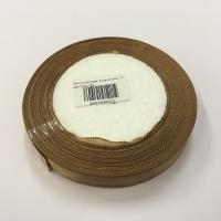 Лента атласная, лесной орех, 12 мм (20м)