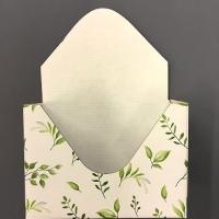 Конверт кашпо Зеленая листва