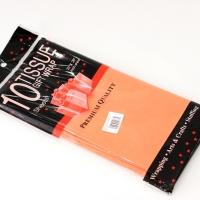 Бумага тишью, оранжевая 10шт