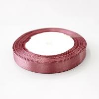 Лента атласная, пурпурный , 12 мм (20м)